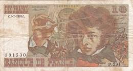 France - Billet De 10 Francs Type Hector Berlioz - 1er Juillet 1976 C - 10 F 1972-1978 ''Berlioz''