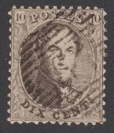 COB 14 - Dent 12 ½ - Obl. 60 (HERVE) - 1863-1864 Medaillen (13/16)