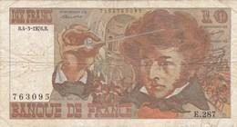 France - Billet De 10 Francs Type Hector Berlioz - 4 Mars 1976 B - 1962-1997 ''Francs''