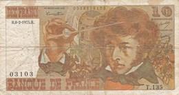 France - Billet De 10 Francs Type Hector Berlioz - 6 Février 1975 H - 1962-1997 ''Francs''