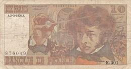 France - Billet De 10 Francs Type Hector Berlioz - 2 Mars 1978 A - 1962-1997 ''Francs''