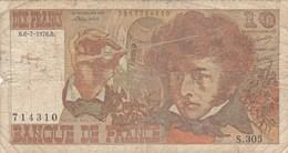 France - Billet De 10 Francs Type Hector Berlioz - 6 Juillet 1978 B - 1962-1997 ''Francs''