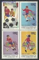 Chile 1987 Mi 1179-1182 MNH ( ZS3 CHLvie1179-1182 ) - Chile