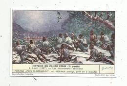 Chromo , LIEBIG , Histoire Du Congo Belge, 2 E Partie, N° 4,  LINDI ,  Les Mouvements Séditieux - Liebig