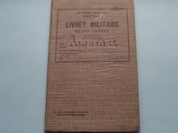 Livret MILITAIRE Zakboekje FAGNIART Léopold Née Jemappes 28 Sept 13 ( Armée Belge ) Classe 1933 ( Voir Photo ) ! - Documents