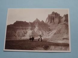 In The Bad Lands Ca. 1900 - Edward S. Curtis ( Désastre - France 1993 / Voir Photo ) ! - Indiens De L'Amerique Du Nord