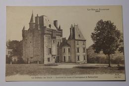 CPA Le Chateau De Vaux Domine La Route D'Yssingeaux à Retournac - DAK14 - Yssingeaux