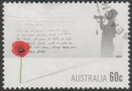 AUSTRALIA - USED 2011 60c Remberance Day 11-11-11 - Soldier - 2010-... Elizabeth II
