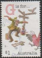 "AUSTRALIA - USED 2017 $1.00 Fair Dinkum Aussie Alphabet ""G"" Is For Galah (bird), Guidepost - 2010-... Elizabeth II"