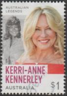 AUSTRALIA - USED 2018 $1.00 Australian Legends Of Televesion - Kerrie-Anne Kennerley - 2010-... Elizabeth II