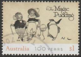 "AUSTRALIA - USED 2018 $1.00 Centenary Of Children's Bush Classics - Norman Lindsay - ""The Magic Pudding"" - 2010-... Elizabeth II"