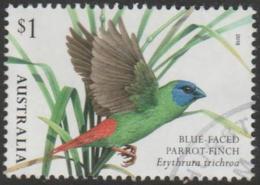 AUSTRALIA - USED 2018 $1.00 Australian Finches Part I - Blue Faced Parrot Finch - Birds - 2010-... Elizabeth II