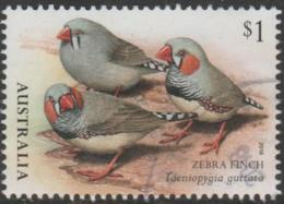 AUSTRALIA - USED 2018 $1.00 Australian Finches Part I -Zebra Finch - Birds - 2010-... Elizabeth II
