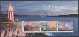 AUSTRALIA - USED 2018 $3.00 Lighthouses Of Sydney, New South Wales Souvenir Sheet - 2010-... Elizabeth II