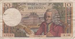 France - Billet De 10 Francs Type Voltaire - 5 Janvier 1967 V - 1962-1997 ''Francs''