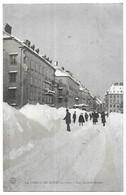 La Chaux De Fonds En Hiver Rue Leopold-Robert - NE Neuchâtel