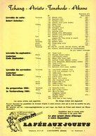 Catalogue LA FÈE AUX JOUETS Nouveautés 1961 Tschang Aristo Tenshodo Akane + Prix CHF - En Français Et En Allemand - Livres Et Magazines