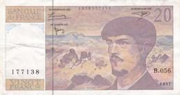 France - Billet De 20 Francs Type Claude Debussy - 1997 - 1962-1997 ''Francs''