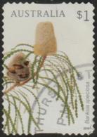 AUSTRALIA - DIE-CUT-USED 2018 $1.00 Banksias - Banksia Speciosa - 2010-... Elizabeth II