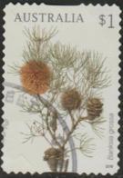 AUSTRALIA - DIE-CUT-USED 2018 $1.00 Banksias - Banksia Grossa - 2010-... Elizabeth II
