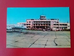 Postcard. Dyushanbe. Airport. Tajikistan. Pwi 1-97 - Tadjikistan