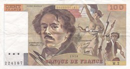 France - Billet De 100 Francs Type Eugène Delacroix - 1978 - 1962-1997 ''Francs''