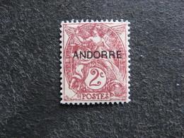 TB Timbre D'Andorre N°3, Neuf XX. - Neufs