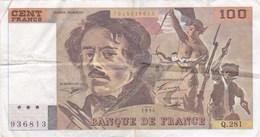 France - Billet De 100 Francs Type Eugène Delacroix - 1994 - 100 F 1978-1995 ''Delacroix''
