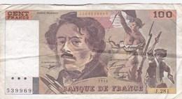 France - Billet De 100 Francs Type Eugène Delacroix - 1994 - 1962-1997 ''Francs''