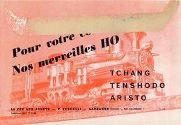 Catalogue LA FÈE AUX JOUETS 1957 P.VERCELLI Tschang Tenshodo Aristo - En Français Et En Allemand - Livres Et Magazines