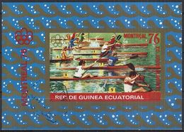 REPUBLICA DE GUINEA ECUATORIAL 1976 Mi-Nr. Block 210 O Used - Äquatorial-Guinea