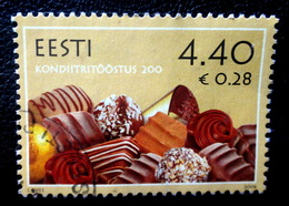 Candy Estonia 2006 Estonian Confectionery Industry Mi 556 Used Stamps  (o)  ALB - 62 -  22 - 6 - Estonia