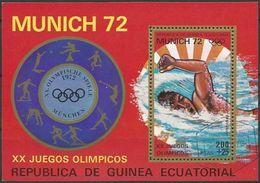 REPUBLICA DE GUINEA ECUATORIAL 1972 Mi-Nr. Block 17 O Used - Äquatorial-Guinea