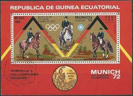 REPUBLICA DE GUINEA ECUATORIAL 1972 Mi-Nr. Block 19 O Used - Äquatorial-Guinea