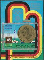 REPUBLICA DE GUINEA ECUATORIAL 1972 Mi-Nr. Block 40 O Used - Äquatorial-Guinea