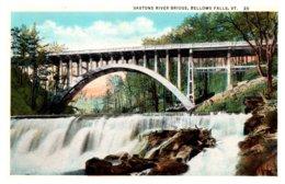 Vermont  Bellows Falls , Saxtons River Bridge - United States