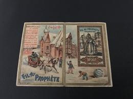 FIL AU PROPHETE PL Mercerie - Chromo Calendrier 1896 - Autres