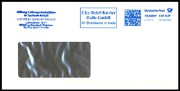 Bund / Germany: Stempel 'City-Brief-Kurier Halle - Martin Luther, 2013' / Cancel 'Private Postal Service' - BRD