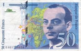 France - Billet De 50 Francs Type Antoine De Saint-Exupéry - 1994 - 1992-2000 Ultima Gama