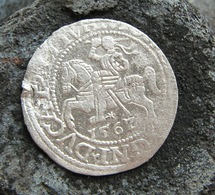 Ancient Medieval Silver European Coin 1567 Year - Archaeology