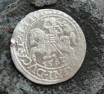 Ancient Medieval Silver European Coin 1567 Year - Arqueología