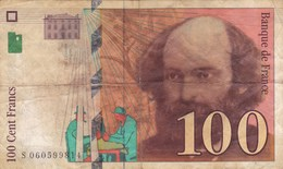 France - Billet De 100 Francs Type Paul Cézanne - 1998 - 1992-2000 Ultima Gama