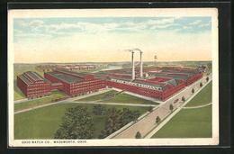 AK Wadsworth, OH, Ohio Match Co. - Etats-Unis