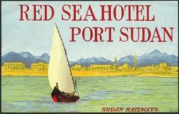 @@@ MAGNET - Red Sea Hotel Port Sudan - Publicitaires