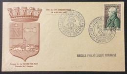 D423 La Roche Sur Yon Cent Cinquantenaire Napoléon Vendée 5 Prairial An XII  22-23/5/1954 969 Lavallette - Postmark Collection (Covers)