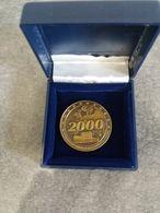 Médaille En Bronze - Strasbourg , Siège Du Parlement Européen 2000 - - Euros Of The Cities