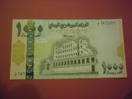 YEMEN 1000 R 1998 (XF) S/N 6966426 - Yemen