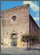 °°° Cartolina N. 2 Rieti Chiesa S. Agostino Viaggiata °°° - Rieti