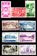 Siria-00078 - Valori Del 1950-55 (o) Used - Senza Difetti Occulti. - Siria
