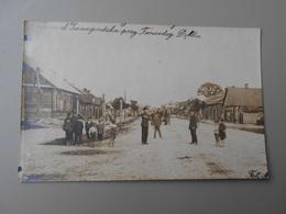 POLOGNE ..........PRZY..............DEBLIN  CARTE PHOTO IRENA LE 31/07/1920 - Polen